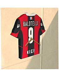 FC Ogc Nice Club de football–Maillot de football Horloge–n'importe quel nom et n'importe quel Nombre–Vous Choisissez.