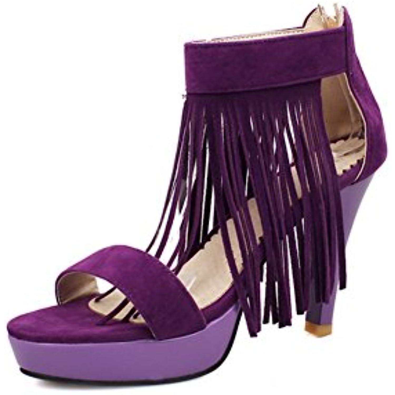 BalaMasa Bout Ouvert 36.5 Femme - Violet - Violet, 36.5 Ouvert EU - B07DJPZGSR - 09f54c