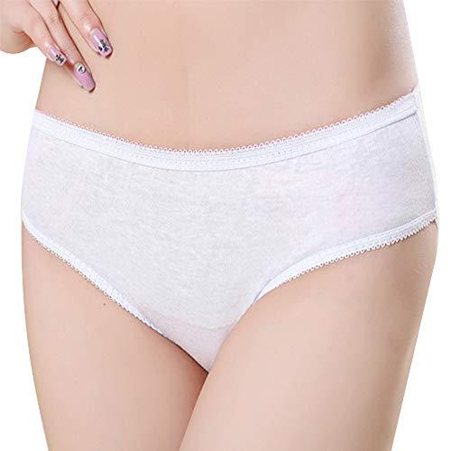 0585fcc80d73 Super Soft Women's Disposable Cotton Briefs - Premium Quality Comfortable Knickers  Panties Underwear, Ideal for