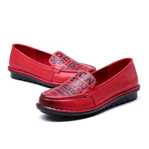 Chaussures femme/Mamans fashion chaussures de loisirs/ la lettre imprimé chaussures/Chaussures de fond mou B