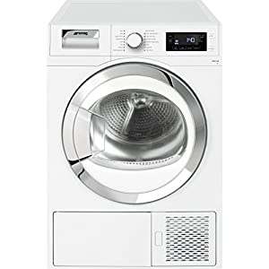 Smeg DRF81AUK Freestanding A+ Rated Condenser Tumble Dryer - White by AO