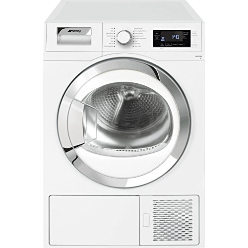 Smeg DRF81AUK Freestanding A+ Rated Condenser Tumble Dryer, White