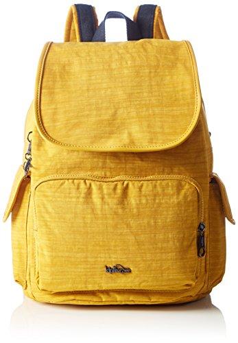 Imagen de kipling  city pack, bolsos  mujer, yellow dazz corn , 32x37x18.5 cm w x h x l