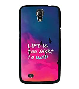 PrintVisa Designer Back Case Cover for Samsung Galaxy Mega 6.3 I9200 :: Samsung Galaxy Mega 6.3 Sgh-I527 (pink blue orange Inspire fabulous)