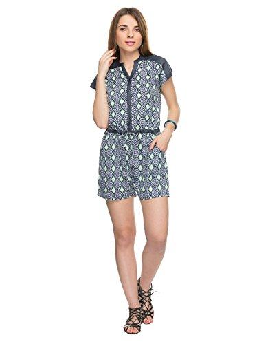 TARAMA Geometric Print Multicolor color Jumpsuit for womens.