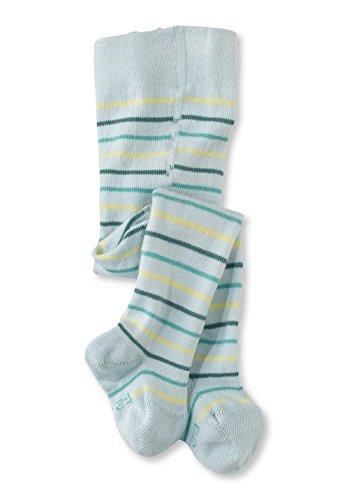 hessnatur Baby Mädchen und Jungen unisex Ringel-Strumpfhose aus Bio-Baumwolle blau, bunt 62/68, 74/80, 86/92, 98/104 (Bio-baumwoll-strumpfhose)