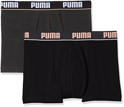 Puma, Intimo Uomo (Pacco da 2) Noir (black 200 / antracite 201)