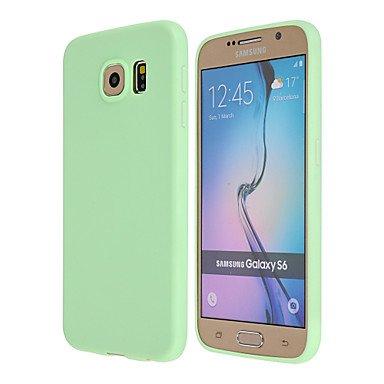 Gute Leistung Zauber spider®candy farbenen matte ultra dünnes TPU weicher Fall für Samsung-Galaxie s6 Kante + / S6 Kante / S6 (Farbe sortiert) , Einfach zu bedienen ( Farbe : Grün , Kompatible Modellen : Galaxy S7 Edge ) (Geldbörse Spider Green)