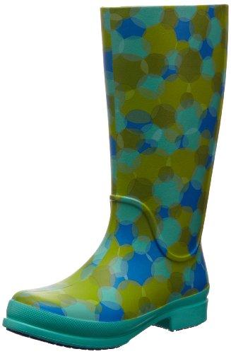 Crocs - Wellie Polka DOT Boot Island Green Ocean