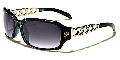 Kleo - Lunette de soleil - Femme multicolore Multicoloured taille unique - noir - taille unique