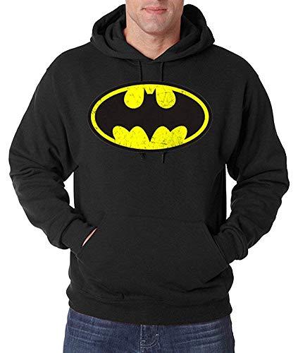 Youth Designz Herren Hoodie Kapuzenpullover Modell Vintage Batman, -