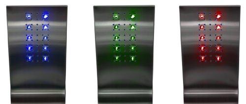 RGB LED DUSCHKOPF FÜR AQUASIN DUSCHPANEEL MIT TEMPERATUR FÜHLER