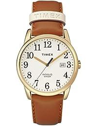 21cfb424e920 Timex Reloj Analógico para Unisex Adultos de Automático con Correa en Cuero  TW2R62700