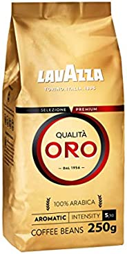 LAVAZZA Qualita Oro Coffee Beans, 250g - Pack of 1