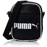 Puma Unisex Campus Portable Retro Small Items Bag, Black