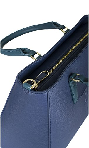 Trussardi Jeans 75B551XX Sac Shopper Femme BRONZE TU blue