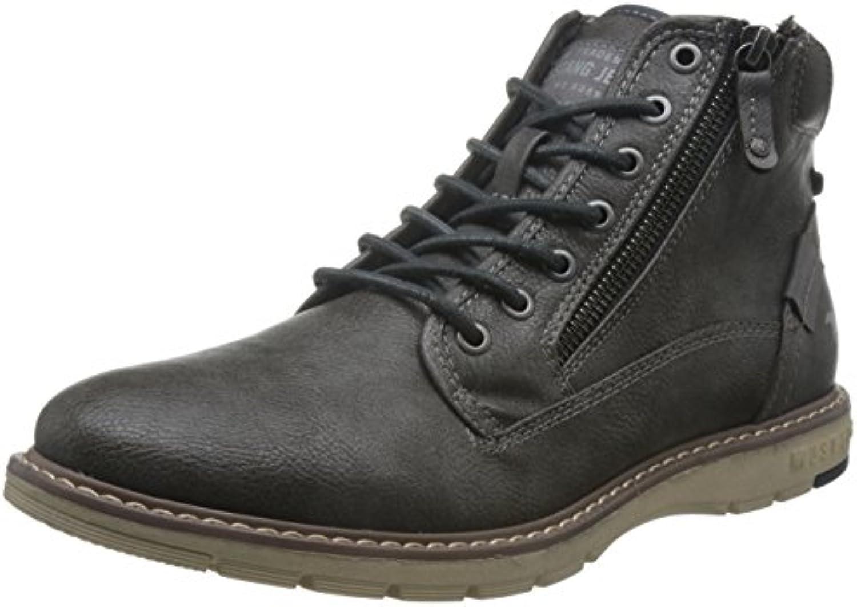 Mustang Herren 4105 502 259 Klassische StiefelMustang Herren Stiefel Grau Schuhgröße Billig und erschwinglich Im Verkauf
