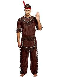 Indianerhäuptling-Kostüm - für Erwachsene/Herren