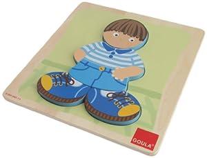 Goula - Puzzle niño, Piezas de Madera (Diset 53091)