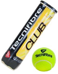 Tennisbälle Tecnifibre Club (4 - Tennisbälle Tecnifibre