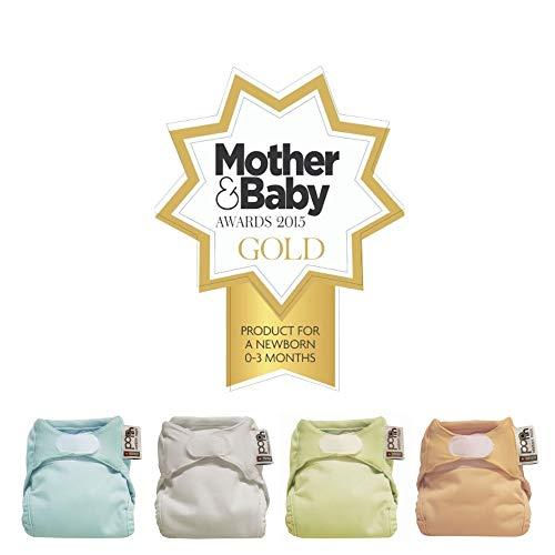 Close Pop-in Stoffwindeln – Newborn Box – farblich sortiert in Pastelltönen – 10 Saugkerne + 6 Außenhüllen - 6