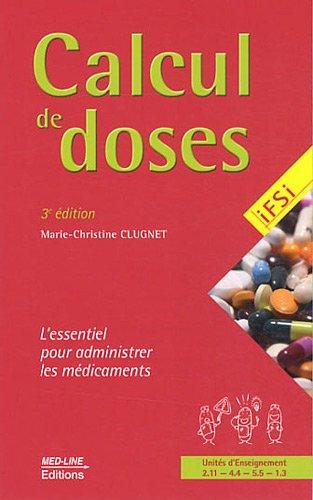 Calcul de doses