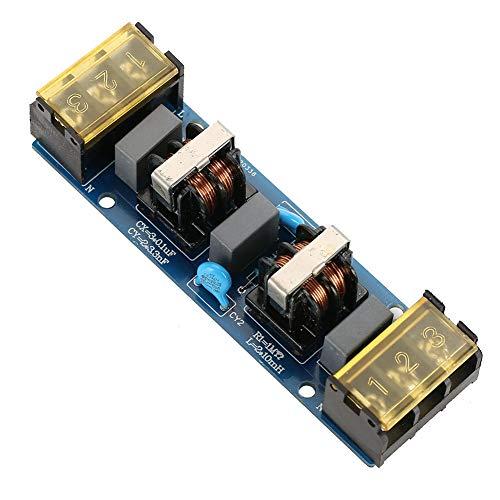 EMI-Filtermodulplatine, zweistufige Hochfrequenz-Tiefpassfilterplatine für die Stromversorgung(6A EMI电源滤波器两级滤波)