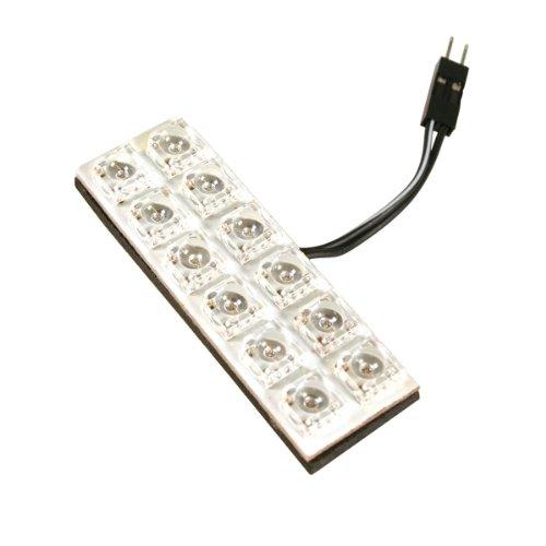 Pilot LA_58495 Platine Hyper-LED avec 6 x 2 LED, 20 x 60 (Blanc)