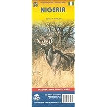 Internation Travel Maps : Nigeria 1 / 1 600 00