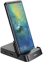 Baseus Docking Station, USB Type C HUB Docking Station for Samsung Galaxy S10/S9/S8/S10+/S9+ Note 9/8 Dex Stat