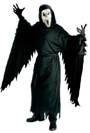 Screaming Ghost Geist Kostüm mit Maske Gr. M (Screaming Kostüm Ghost)