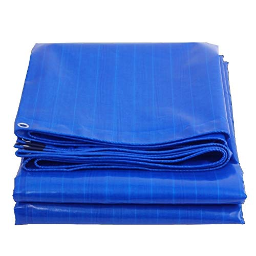 Plane, Blau Super Wasserdicht Ground Sheet Covers Extra Heavy Duty Builders Zelt Camping, Hängematte, Schwimmbad, Garten, Auto, Motorrad, Bootsabdeckung (Color : Blue, Size : 4X5M) Ground Plane Kit