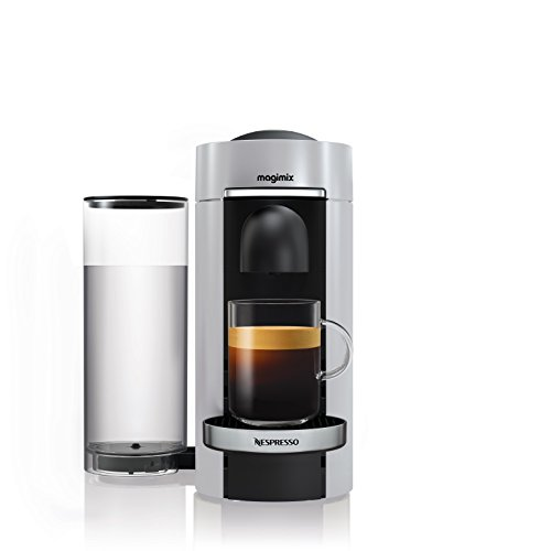 Magimix 11388 Nespresso Vertuo Plus Silver and Milk, Black Best Price and Cheapest