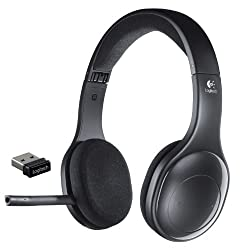 Logitech Wireless Headset h800 for PC Tablets and