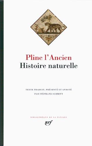Histoire naturelle par Pline l'Ancien