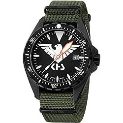 KHS Tactical Watches MissionTimer 3   Eagle One KHS.MTE.NO Militär Armbanduhr