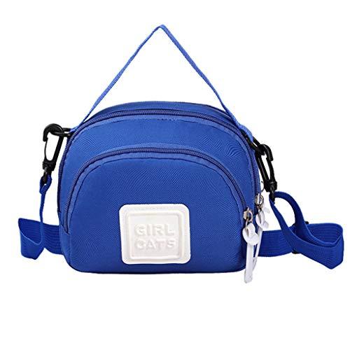 Robmeon Semplice Multilayer Borsa per cellulare Borsa Cosmetica, Donne Messenger Bag Borsa multistrato Shopping Borsa del telefono Cosmetico Bors