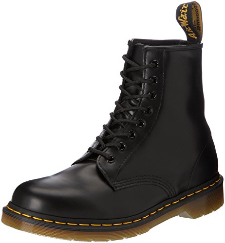 Dr. Martens Original 1460, Stivaletti Unisex Adulto Nero (1460 Smooth 59 Last Black)