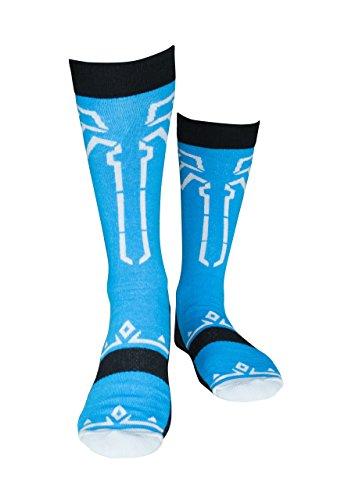 Musterbrand Zelda Socken Unisex Champions Socken blau 38-42