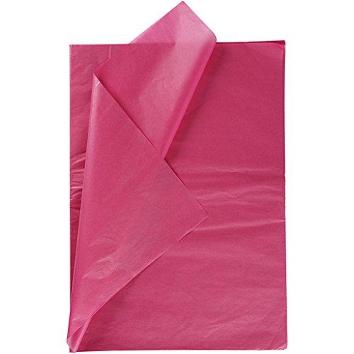 Seidenpapier, Blatt 50x70 cm, 14 g, pink, 25Blatt