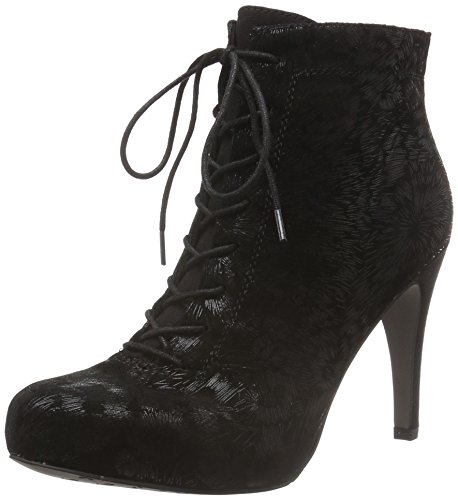 Tamaris 25101, Bottines Femme Noir (Black Struct 006)