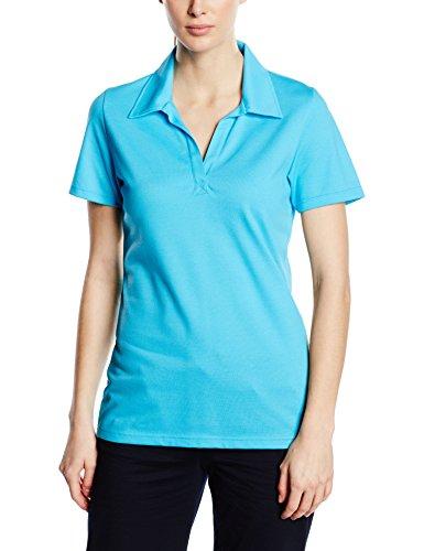 Trigema Damen Poloshirt 521612 Blau (azur 051)