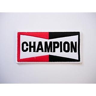 Patch - Champion - Motorsport - Ralley - Auto - Rennsport - Motorbike - Motorrad - Patches - Aufnäher Embleme Bügelbild Aufbügler