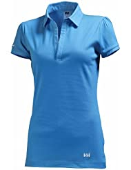Helly Hansen - Polo para mujer, tamaño XS, color azul azur