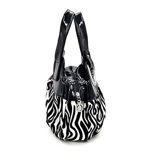 Borse Donna,Sacchetto di polso delle donne di stampa di modo,Borsette da polso Modello di zebra