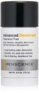 MenScience Advanced Deodorant, 2.6 oz