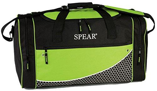 SPEAR® Sporttasche 649 Sporting Goods in 3 Farben ca. 57 x 31 x 26 cm schwarz/hellgrün