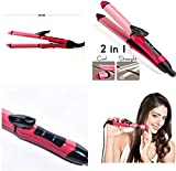 Truestore nova 2009 2 in 1 Multifunction Perfect Curl and Straightener (Colour May Vary)
