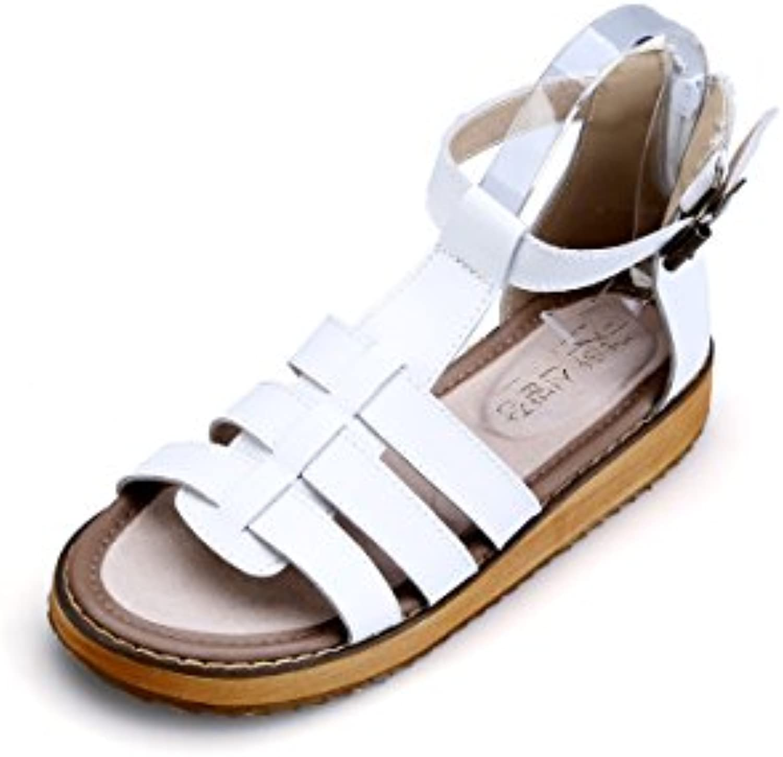 la plate - forme des sandales dame gracosy chaussures chaussures chaussures plates tongs strings t été sandale sangle sangle sandales à lanières... 702943
