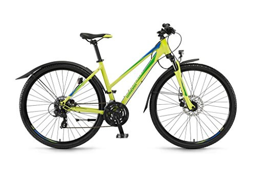 Winora Vatoa Damen Crossrad 21G lime/grün/blau 2017 RH 41 cm / 28 Zoll